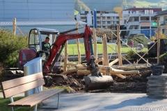 "Sanierung Kinderspielplatz <br class=""clear""/> Oktober2014"